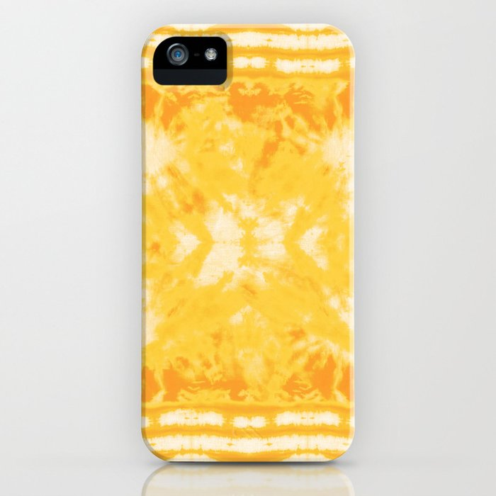 Shibori Beach Sun iPhone Case