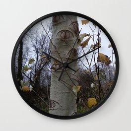 Trees #2 - Looking tree Wall Clock