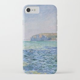 Shadows on the Sea at Pourville by Claude Monet iPhone Case