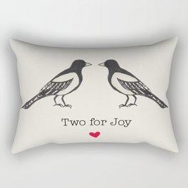 Two for joy  Rectangular Pillow