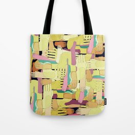 hands and foots Tote Bag