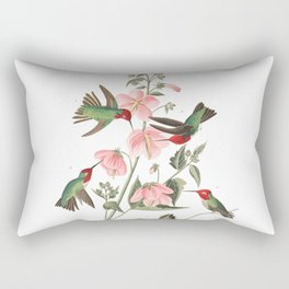 Columbian humming, Birds of America, Audubon Plate 425 Rectangular Pillow