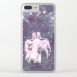 Summer Court Clear iPhone Case