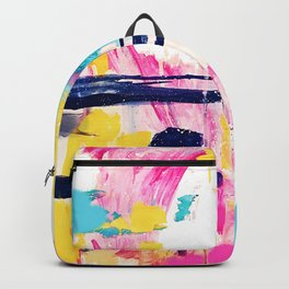 Abstract Colorful Painting Backpack