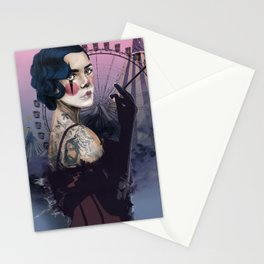 Cirque_Lady Stationery Cards
