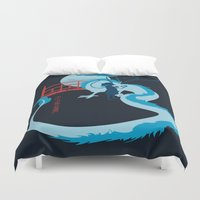 spirited away Duvet Covers featuring Spirited by IlonaHibernis