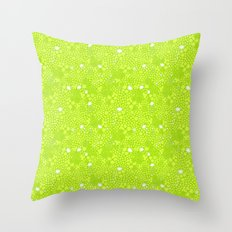 Picnic Pals floral in citrus Throw Pillow
