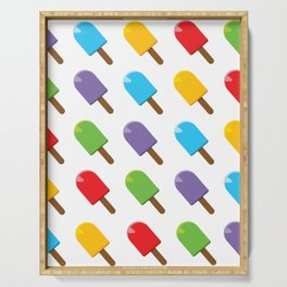 Colorful Popsicles Serving Tray