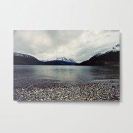 Tutshi Lake Metal Print