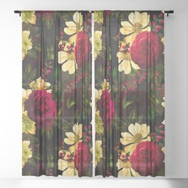 Vintage & Shabby Chic - Night Affaire III Sheer Curtain