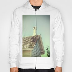 Summer cottage gable roof Hoody