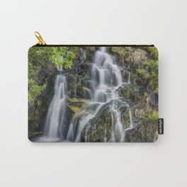 Aqua Waterfall Carry-All Pouch