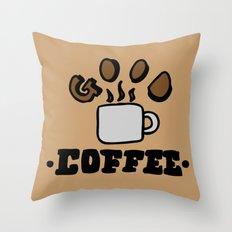 good coffee Throw Pillow