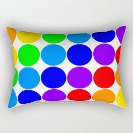 Roy G. Biv color chart Rectangular Pillow