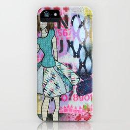 Sassy Twirl iPhone Case