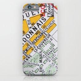 Paris Streets 2 iPhone Case