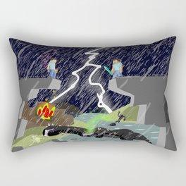 The Final Confrontation Rectangular Pillow