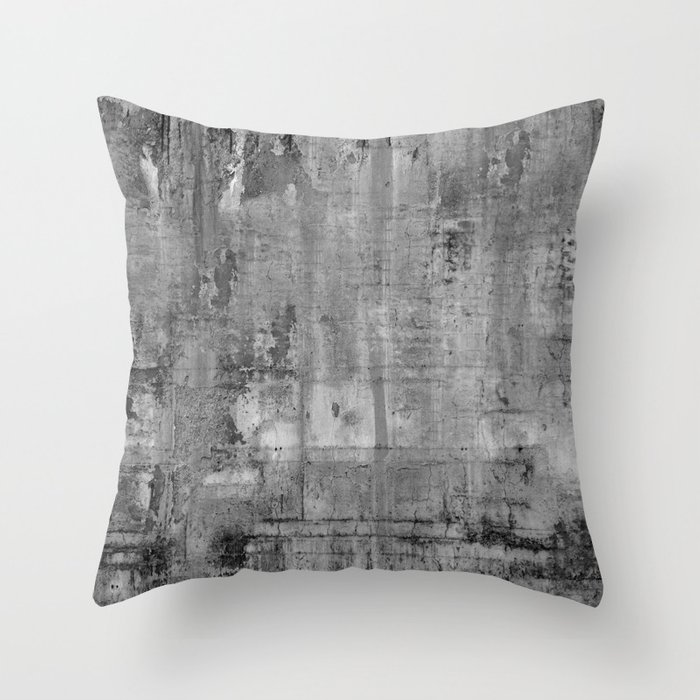 Grey Modern Industrial Rustic Throw Pillow By Magictreesandbumebees Society6
