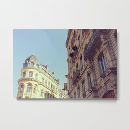 French corners | Dreamy architecture in France | Travel Photography Metal Print