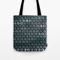 scales Tote Bags featuring Scales by Xaphedo