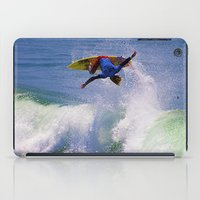 surfer iPad Cases featuring Surfer by Breathstone Photography
