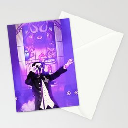 Waiting For The Night To Fall. Stationery Cards