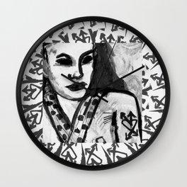 Girls & Horses II Wall Clock