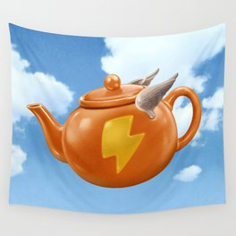 WONDER TEAPOT Wall Tapestry