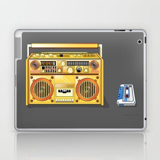 Droid Ghettoblaster Boombox Laptop & iPad Skin