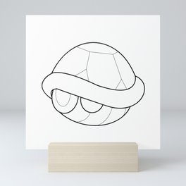 Mario Turtle Shell Mini Art Print