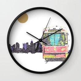 505 Street car Wall Clock