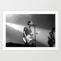 all time low Art Prints featuring All Time Low by Ashton Garner