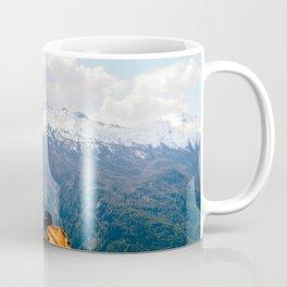 Yellow backpack Coffee Mug