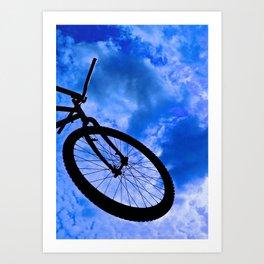 Sky Bike Art Print