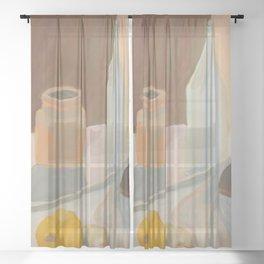 Vessels Sheer Curtain