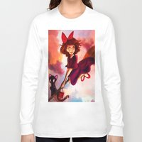 kiki Long Sleeve T-shirts featuring Kiki by Beejutsu