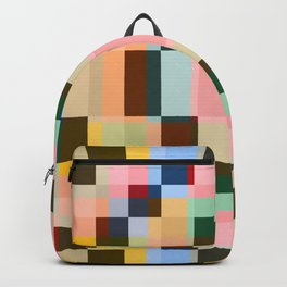Geometric Mandala Shikome Backpack