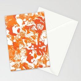 My orange butterflies Stationery Cards