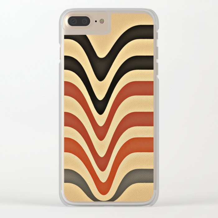 Between Waves Clear iPhone Case