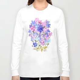 Beautiful Blues Long Sleeve T-shirt
