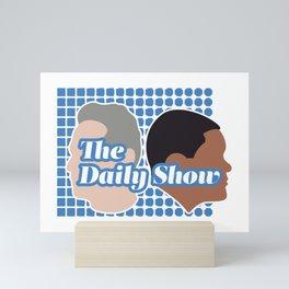 The Daily Show Mini Art Print