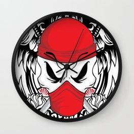 Ltd Edition: pirate skull art Wall Clock