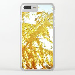 Sacramento Fall Clear iPhone Case