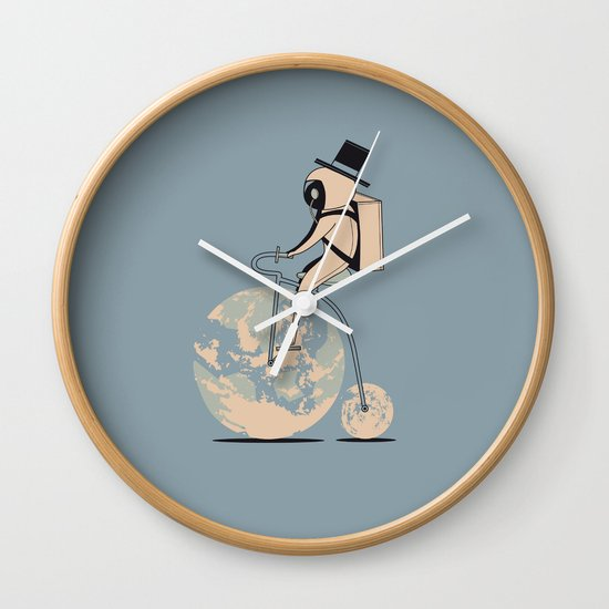 The classic lunar cycle Wall Clock