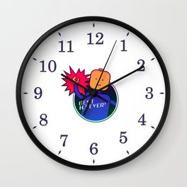 Best handjob ever Wall Clock