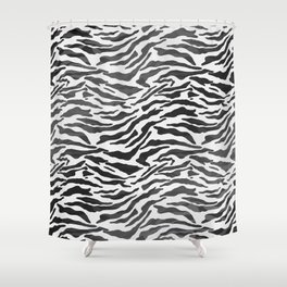 Abstract Pattern VI Shower Curtain
