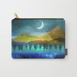 Silent Forest Night Carry-All Pouch