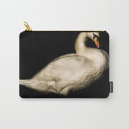 Mute Swan Portriat Carry-All Pouch