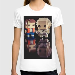 """""""Doc, where the heck is the delorean?!"""" T-shirt"""