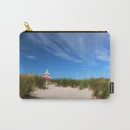 Dunes at the beach - summer holiday Island Outdoors Sea Ocean #Society6 Carry-All Pouch